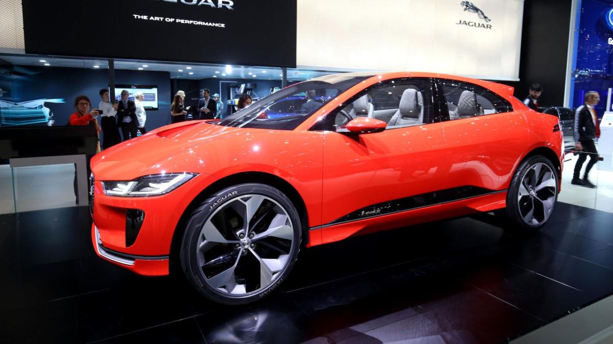 В Женеве презентовали первый электромобиль Jaguar