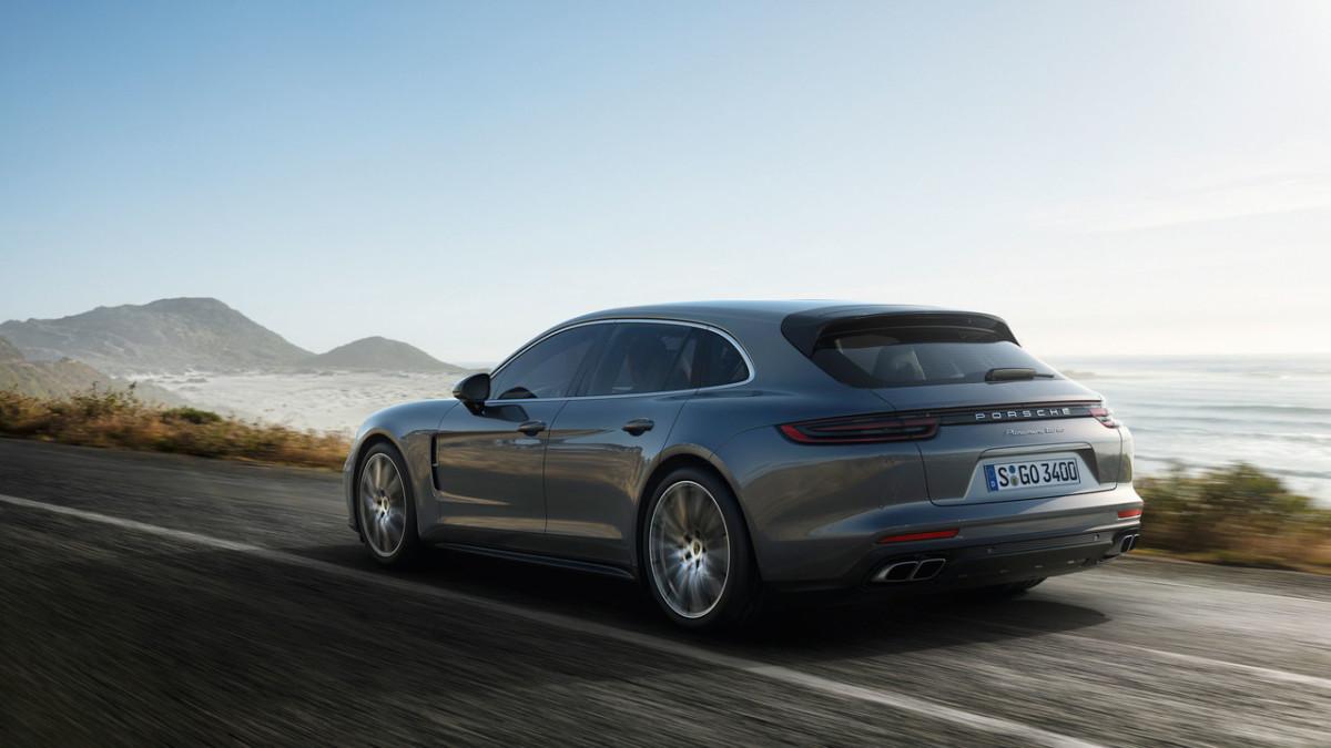 Porsche Panamera Sport Turismo. Каким будет первый универсал Порше