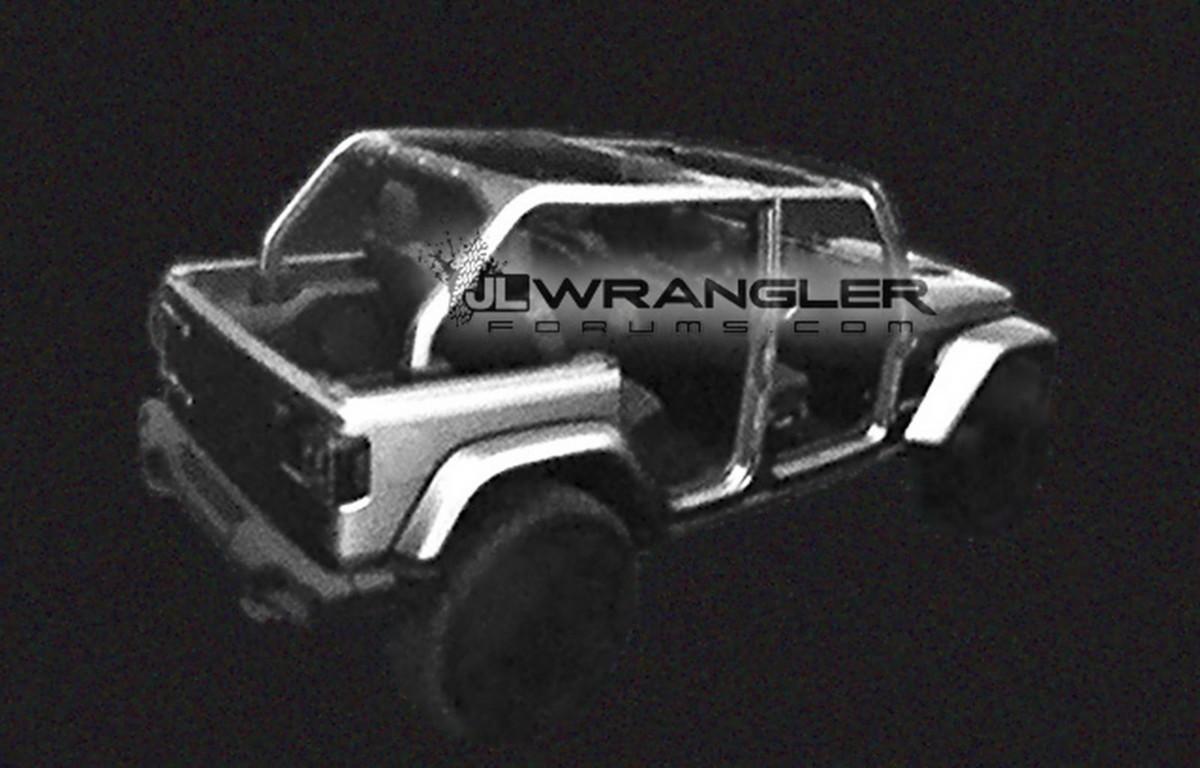 Jeep Wrangler 2018: новые фото и подробности культового внедорожника