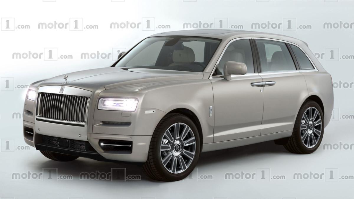 Олигархи в предвкушении: каким будет кроссовер Rolls-Royce Cullinan