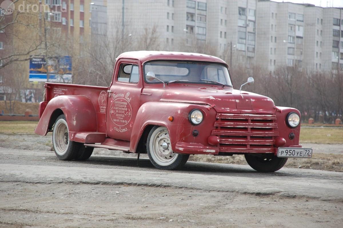 rat rod пикап из ГАЗ-53