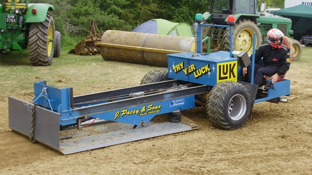 Traktor Pulling 4000 Ua