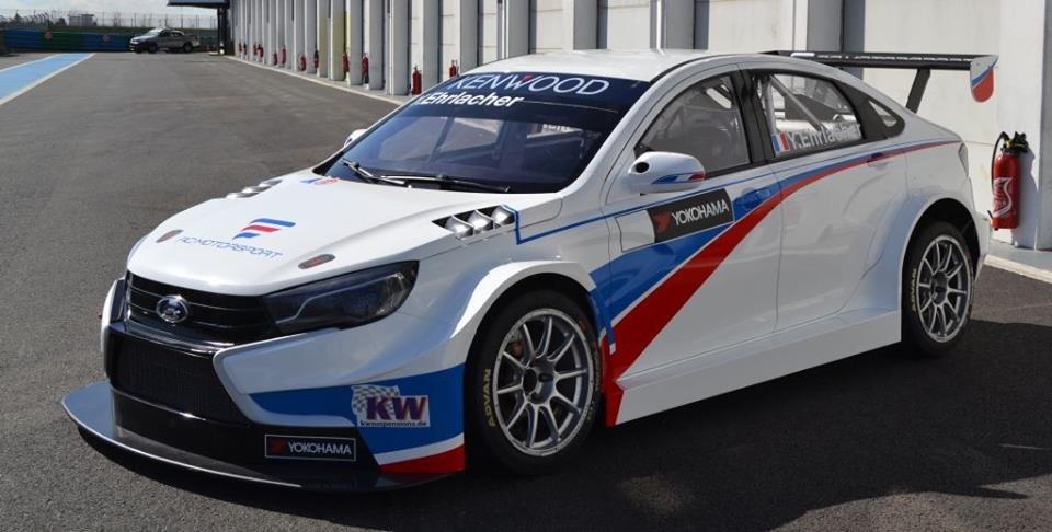 Гоночные Лада  Vesta WTCC будут выступать под французским флагом