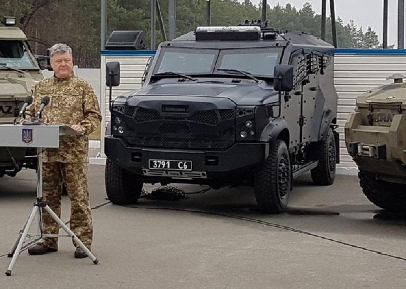 Президент Украины Петр Порошенко на торжественном мероприятии по случаю 25-летия СБУ