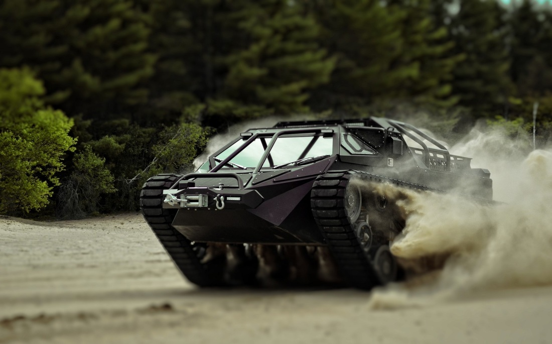 танк Ripsaw EV