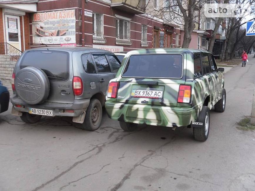 Украинец сделал внедорожник из подручных средств