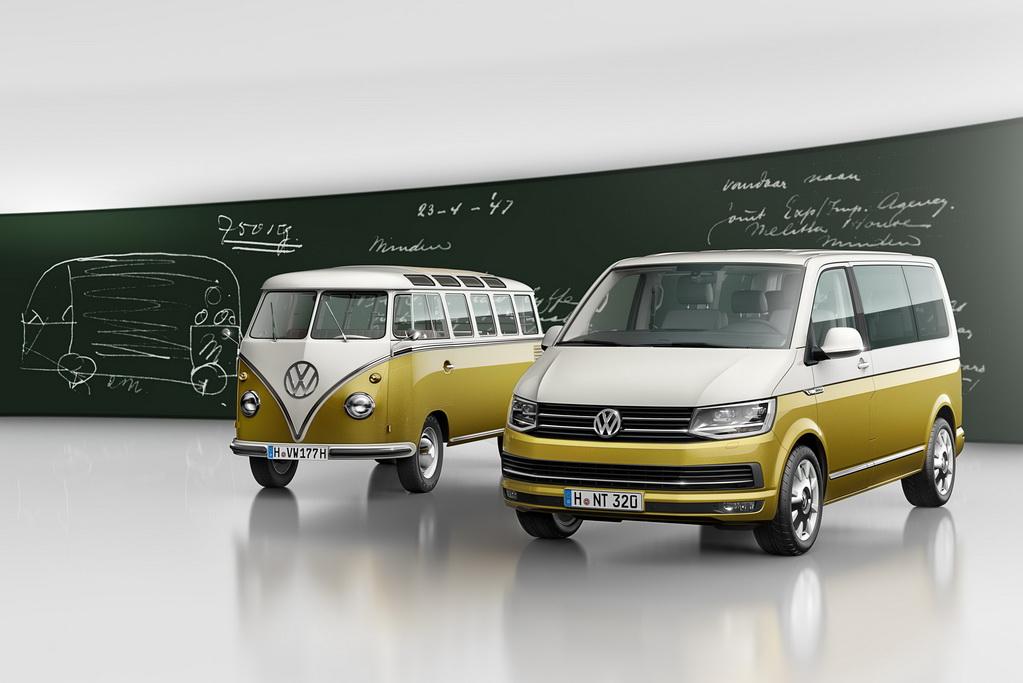 Volkswagen Multivan в версии 70 Years of the Bulli