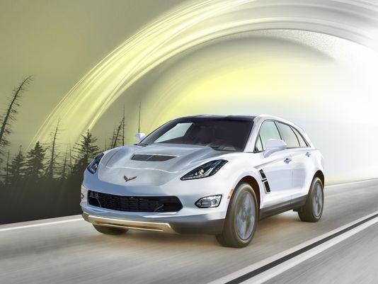 GMможет превратить спорткар Шевроле Corvette вкроссовер