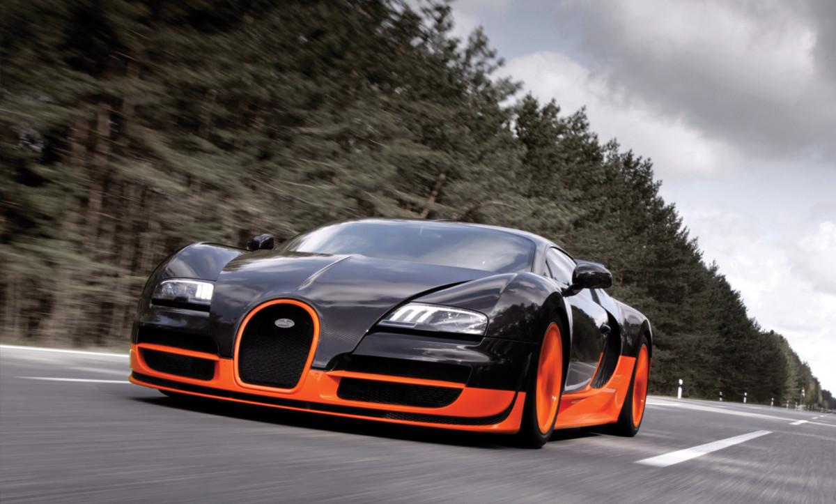 Как разогнать гиперкар Bugatti Veyron до 480 км/ч