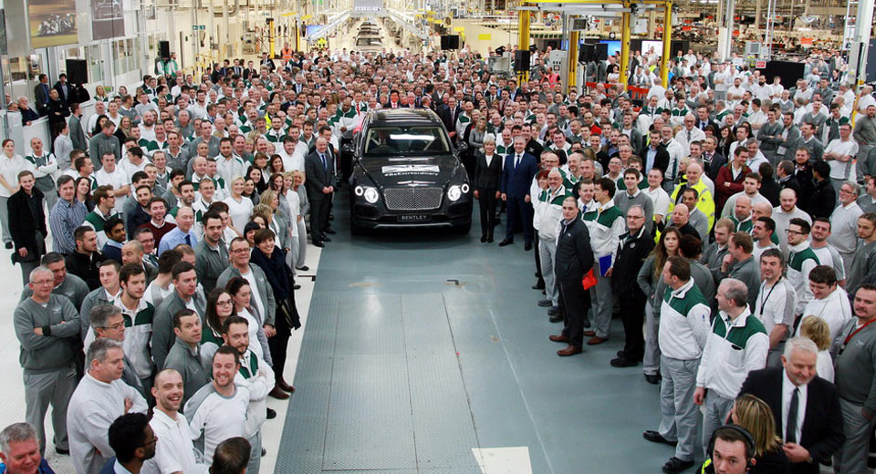 Bentley может перенести производство из Великобритании