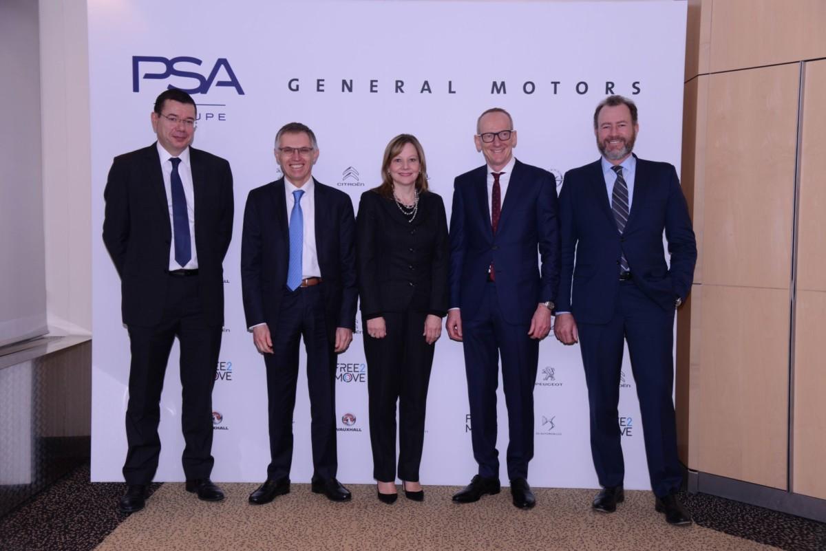 Opel/Vauxhall станет частью Группы PSA