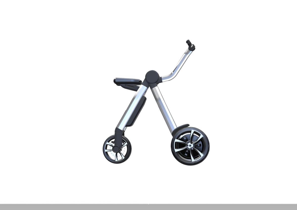 Ford Tri-City в режиме велосипеда