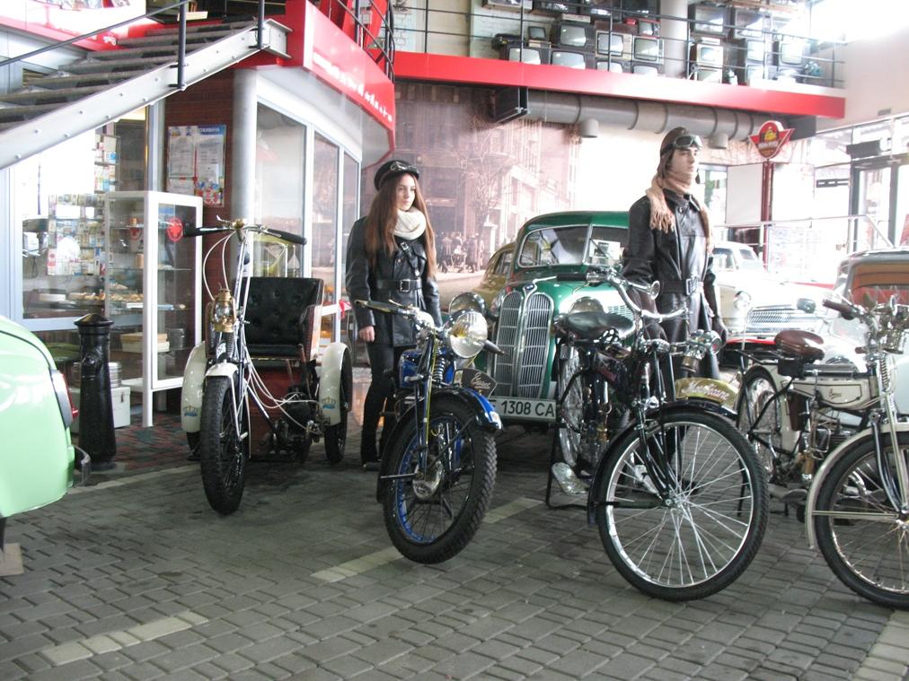 Коллекцию французских мотоциклов выставили в музее «Машины времени»