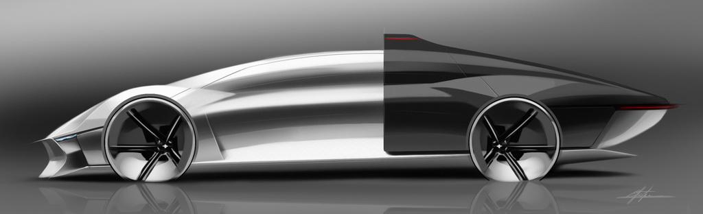 Концепт Jaguar Vision 40