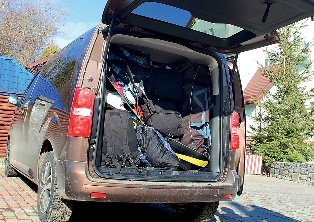 в Карпаты на Peugeot Traveller