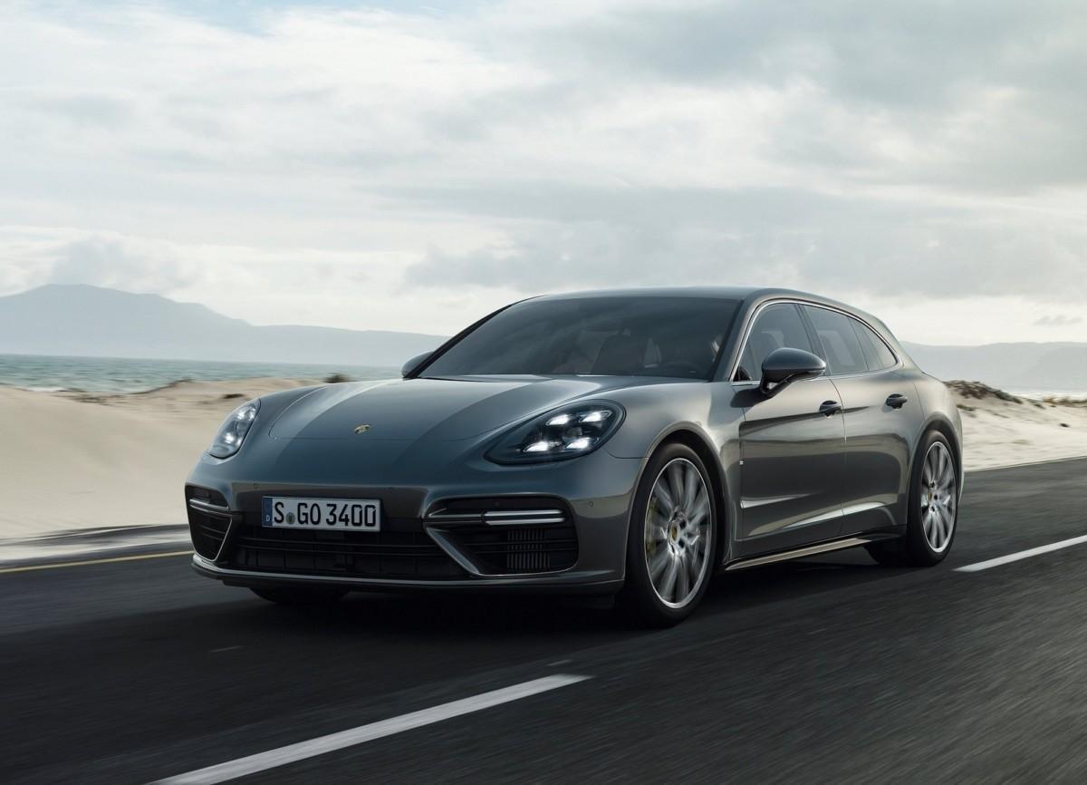 Porsche Cayenne и Panamera станут электромобилями