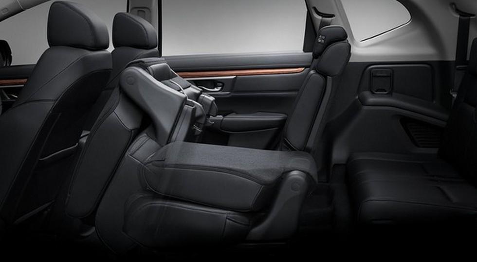Семиместный кроссовер Honda CR-V: первые официальные фото