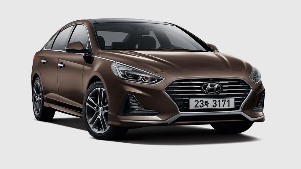 Обновленный Hyundai Sonata 2018. Первые официальные фото седана Хюндай