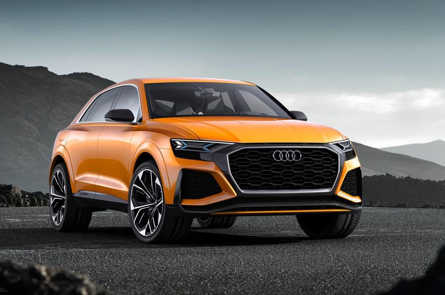 Audi выпустит купе-кроссовер Q4, новую A8 и гибрид Q8