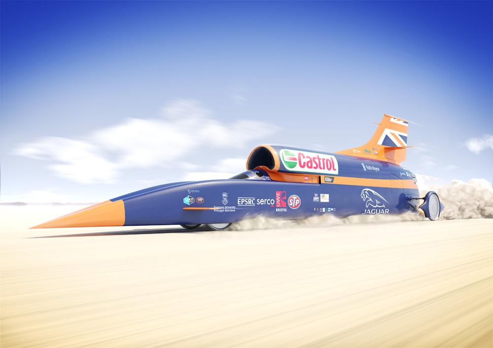 В Британии испытали самый быстрый автомобиль в мире