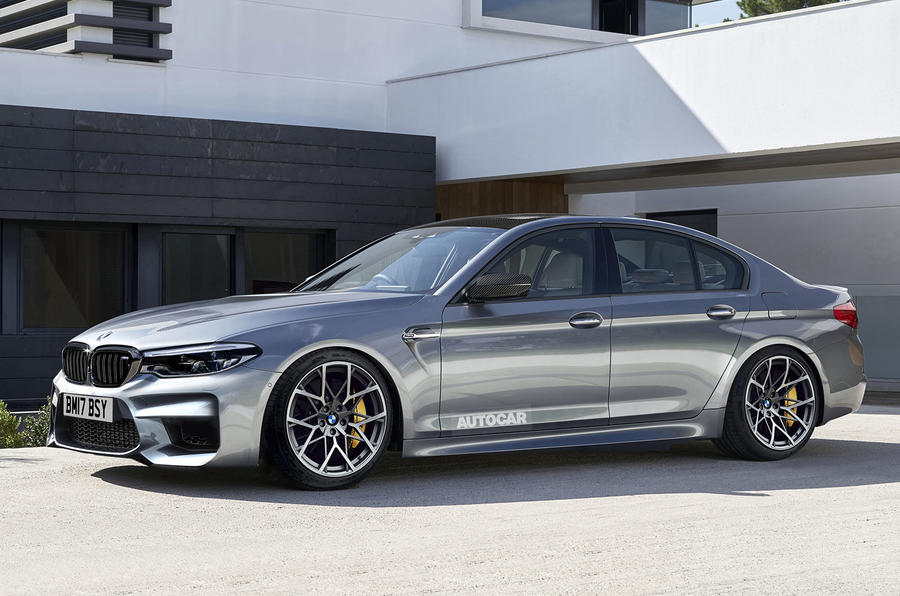 BMW M5 2018. Новые подробности спорт-седана БМВ
