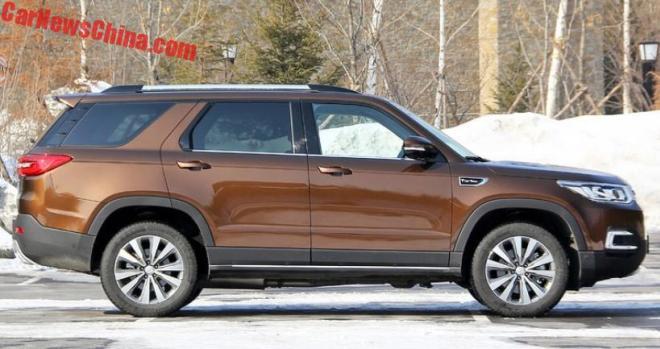 В Китае поступил в продажу клон Land Rover Discovery