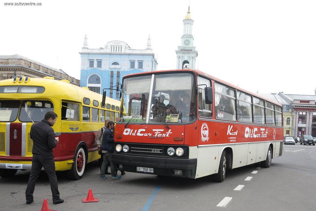 Ikarus 256 из музея КП «Киевпасстранс»