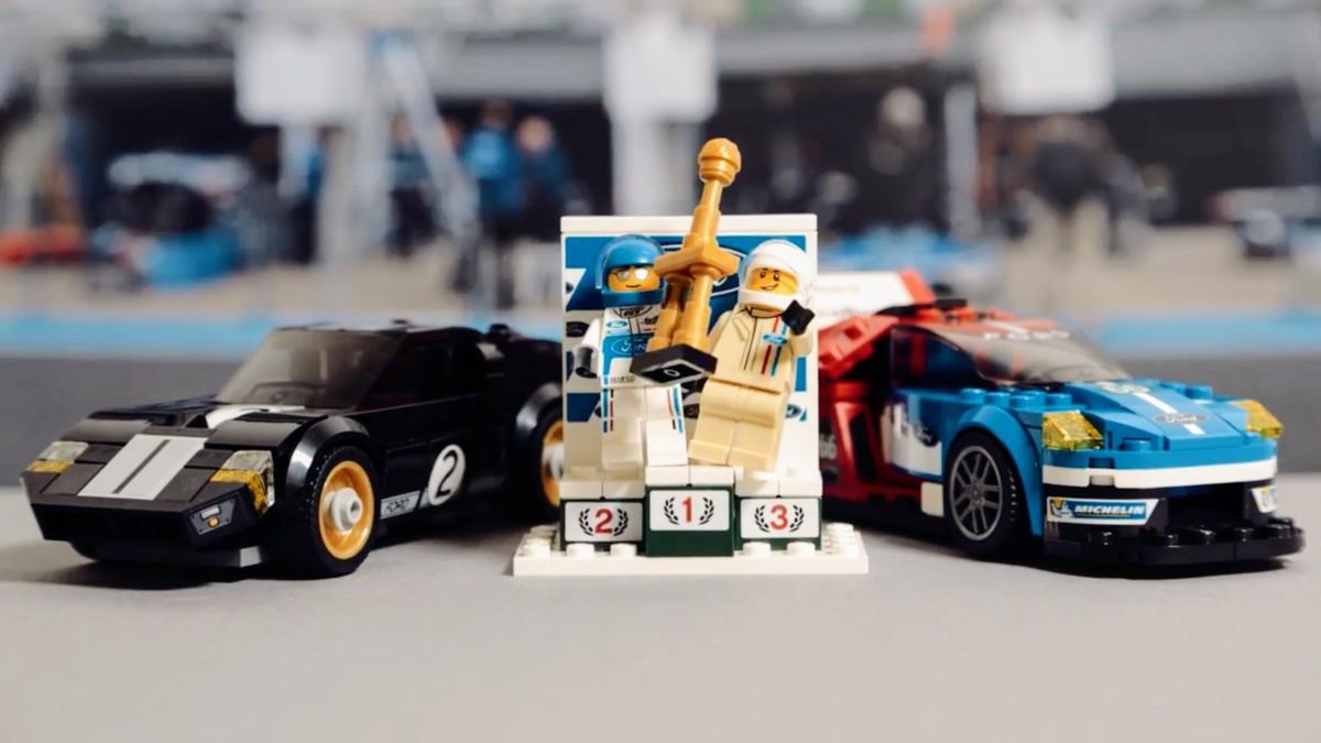 Гоночні автомобілі Ford відтворили в конструкторі LEGO