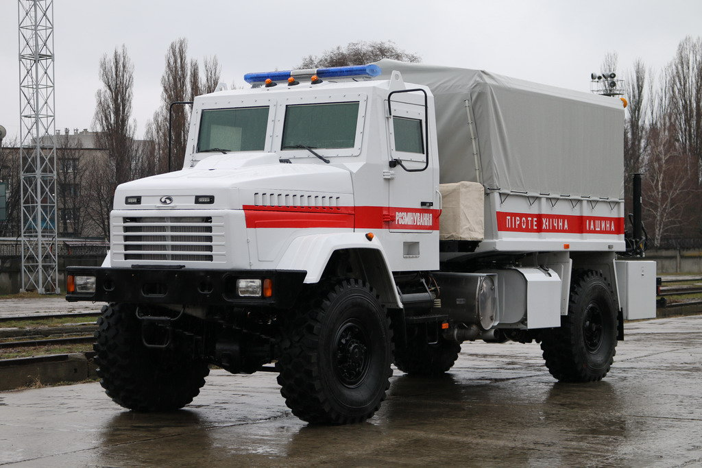 КрАЗ-5233ВЕ (4х4)