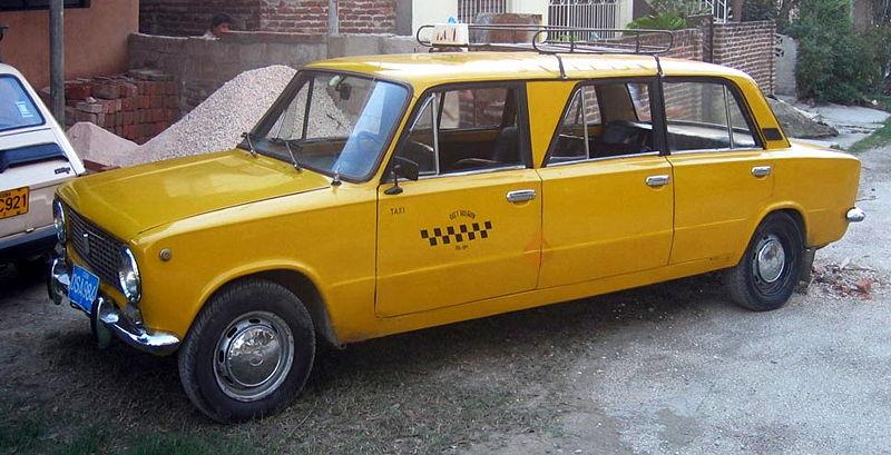 Такси «копейка» в Гаване