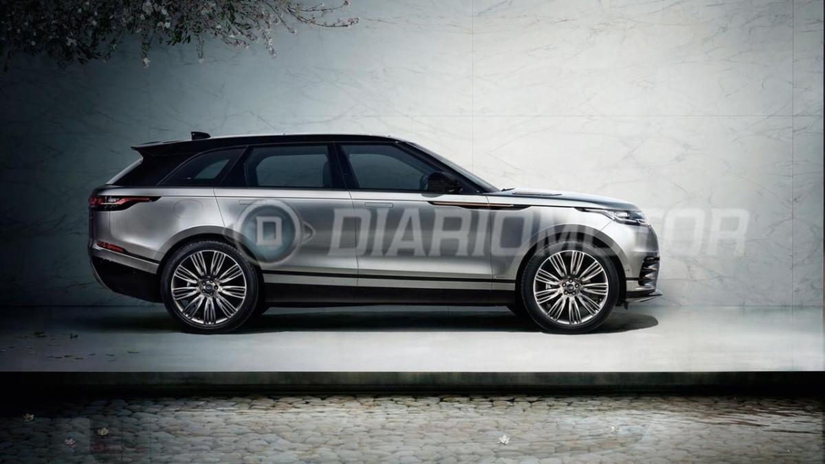 Купе-кроссовер Range Rover Velar полностью рассекречен перед премьерой