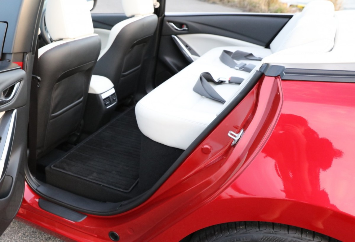 Кабриолет Mazda 6 создан по заказу японских спортсменов