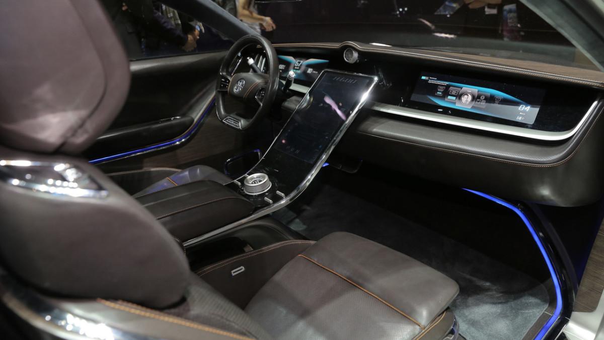 Электромобиль Pininfarina H600: тысяча километров без подзарядки