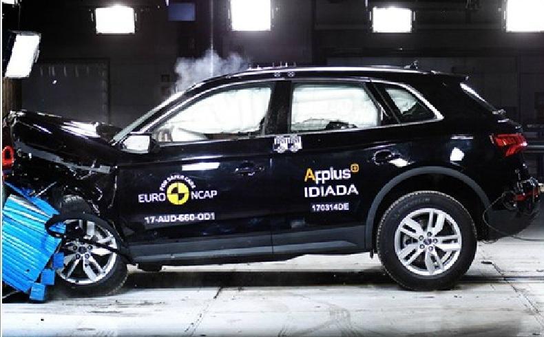 Шесть автомобилей прошли краш-тесты EuroNCAP
