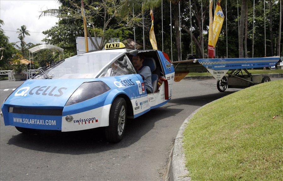 Такси на солнечных батарейках в Израиле