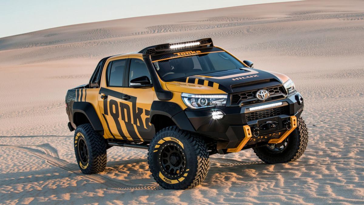 Toyota HiLux Tonka: новый пикап для экстремального бездорожья