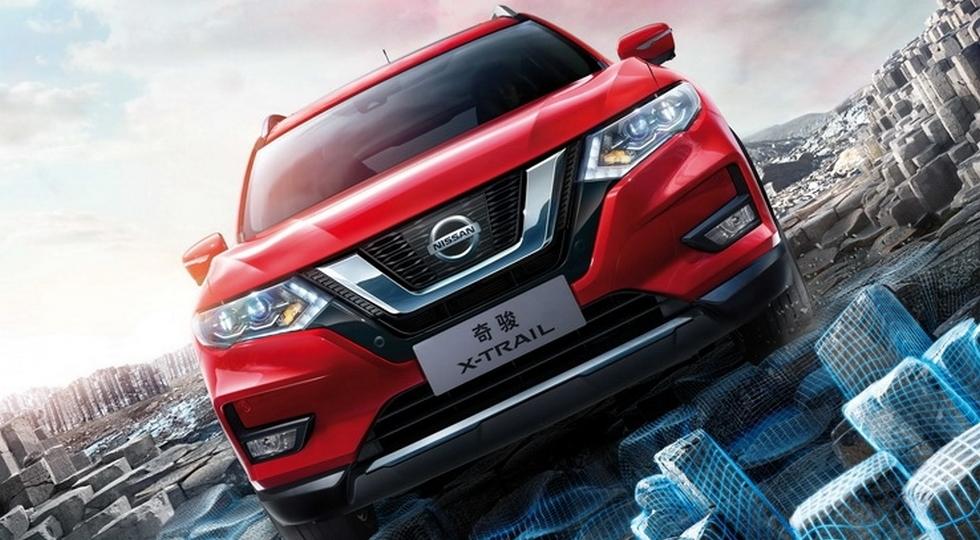 Обновленный Nissan X-Trail 2018 засветился на официальных фото