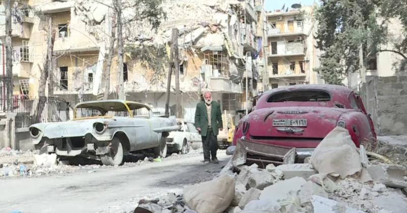 В Сирии уничтожена уникальная коллекция авто