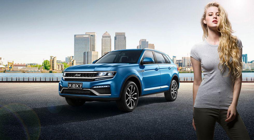 В Китае представлена копия еще не вышедшего Volkswagen Touareg 2018
