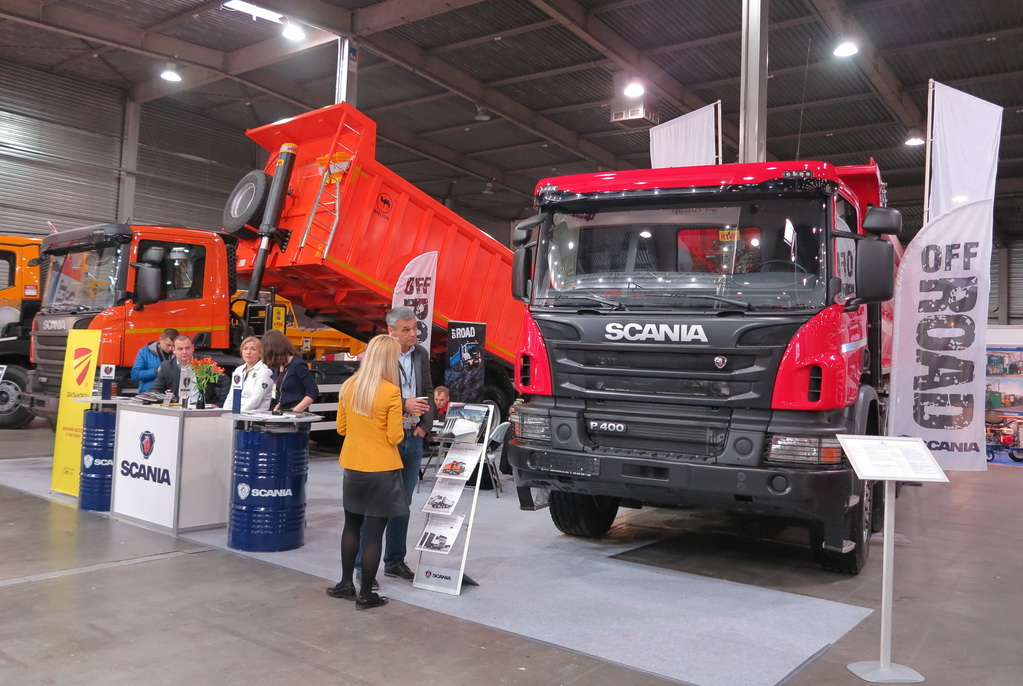 Грузовики Scania для плохих дорог в Украине
