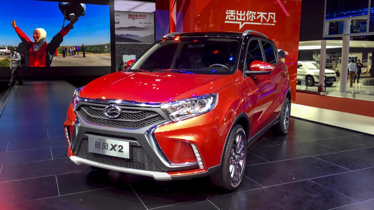 Китайские клоны популярных машин на Шанхайском автосалоне 2017