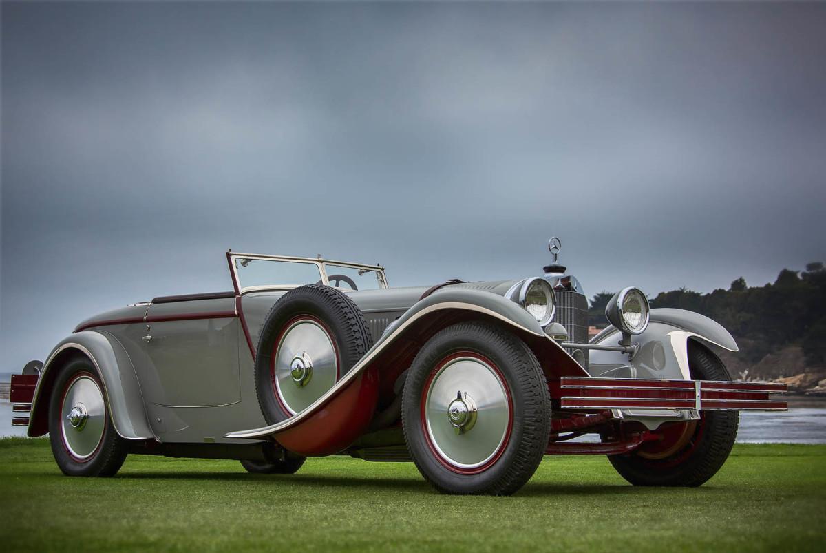 На аукцион выставлен раритетный Mercedes-Benz, созданный украинцем