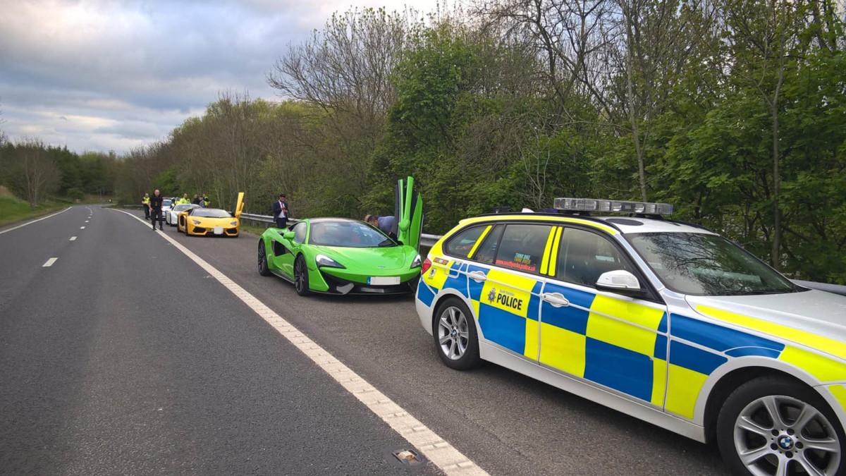 Полиция отобрала суперкары у водителей за «антисоциальное вождение»