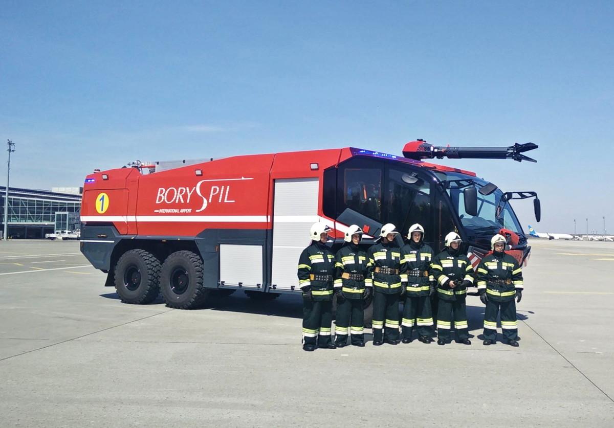 Аэродромный пожарный автомобиль Rosenbauer Panther 5