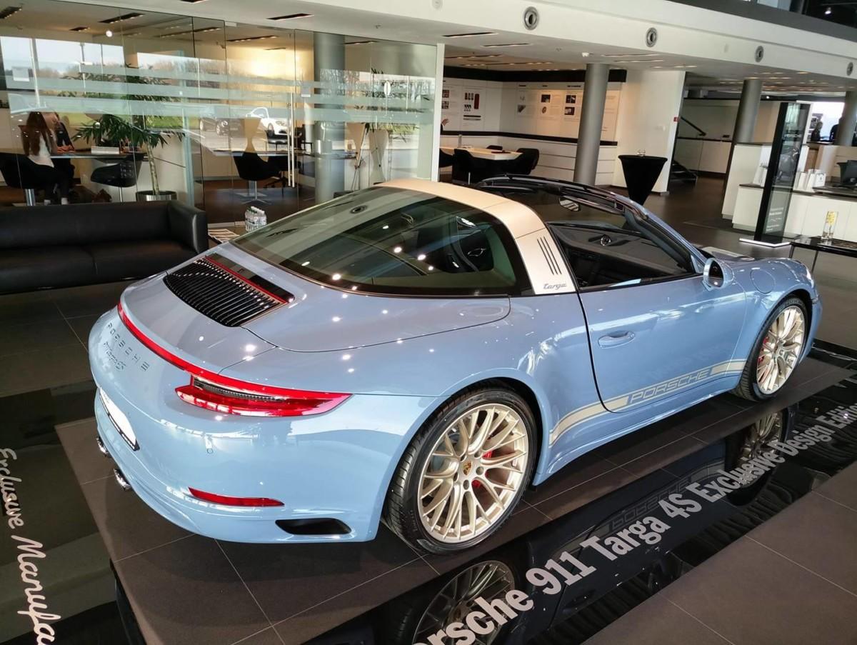 В Украине представлена эксклюзивная версия Porsche 911 Targa