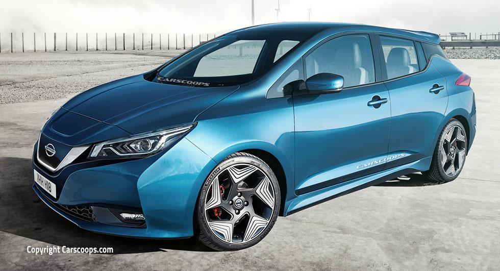 Новый Nissan Leaf 2018 сможет проехать до 500 км без подзарядки