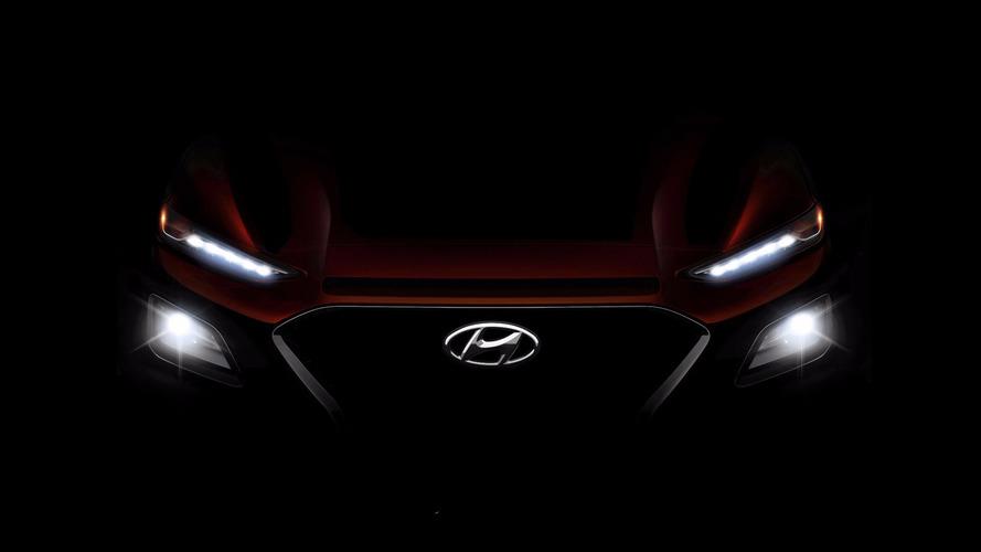 Hyundai Kona 2018: новые фото компактного кроссовера Хюндай