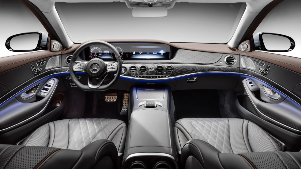 MercedesBenz А класс С класс S класс