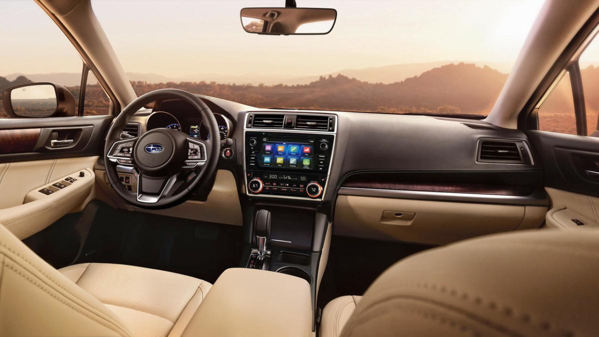 Subaru Outback 2018: первые фото внедорожного универсала Субару