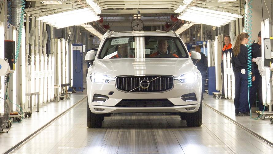 Новый Volvo XC60 2018 запущен в производство